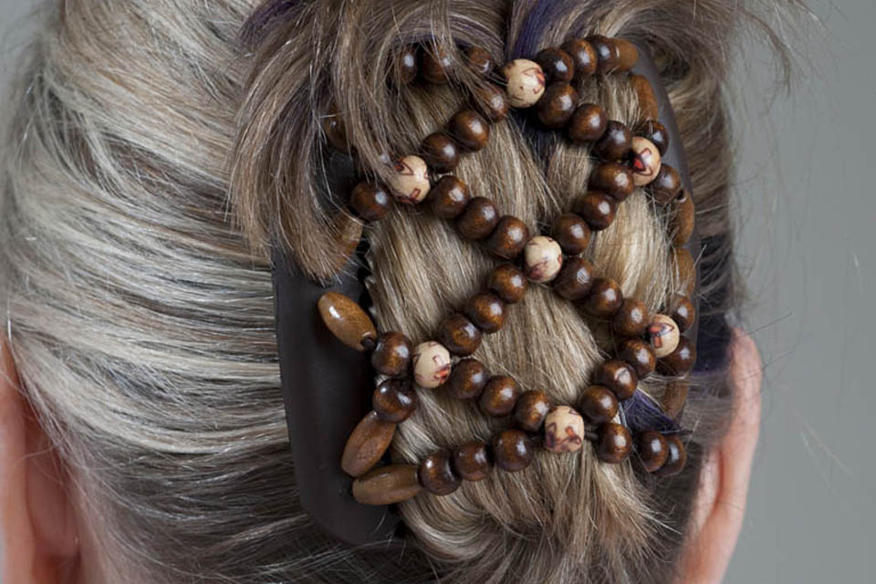 Comfortable stylish hair clips which can be used to create many different styles
