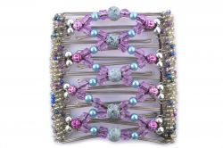 Purple & Blue Original One Clip  - 9 Prongs