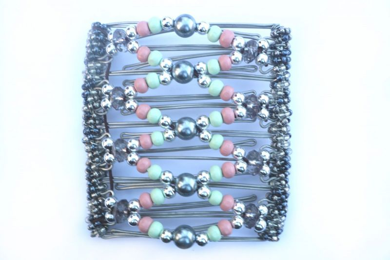 Pretty Beaded Original One Clip  - 9 prongs, approx 10cm