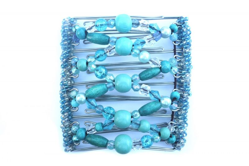 Turquoise Original One Clip  - 9 prongs, approx 10cm
